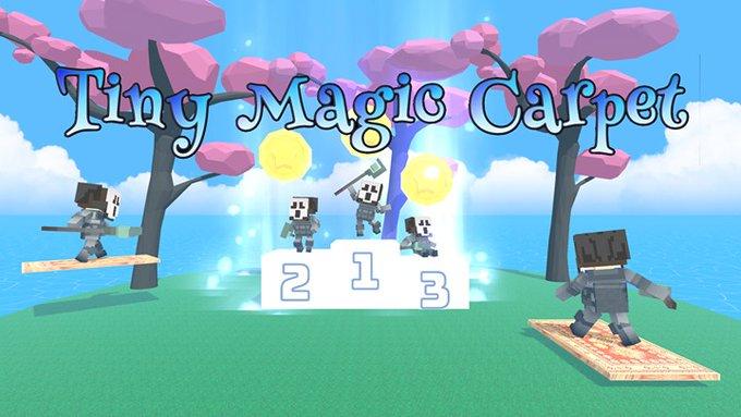 Tiny Magic Carpet Oculus