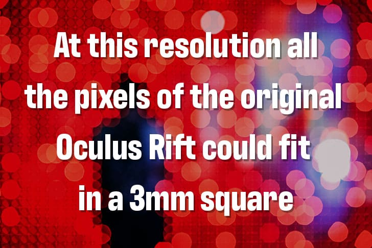 10k Pixel Density