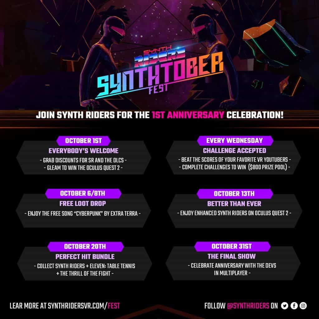 Synthtober Program Square